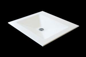 Corian håndvask: Gisa vask , 500 x 300 x 90 mm