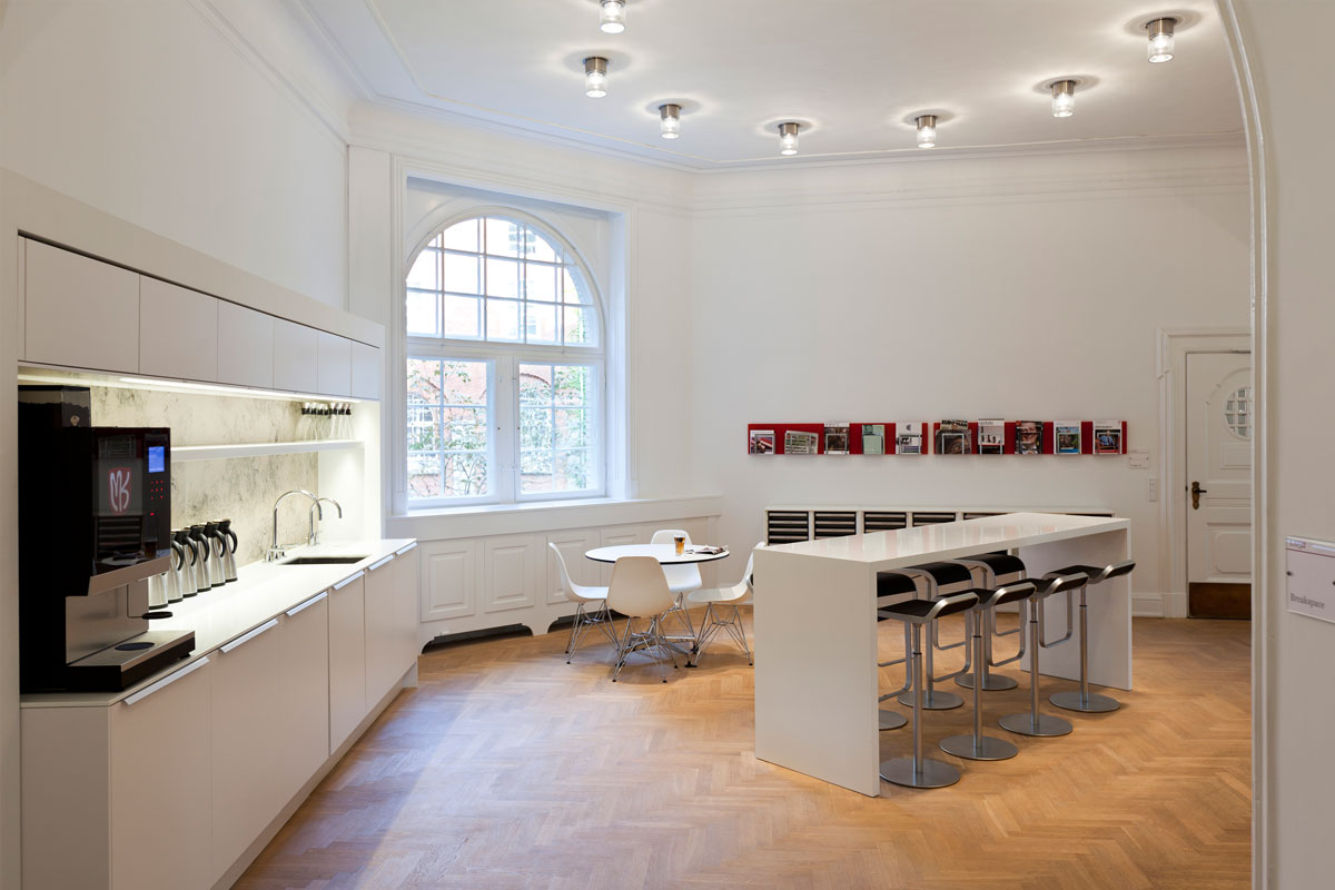 Corian tekøkken kontor