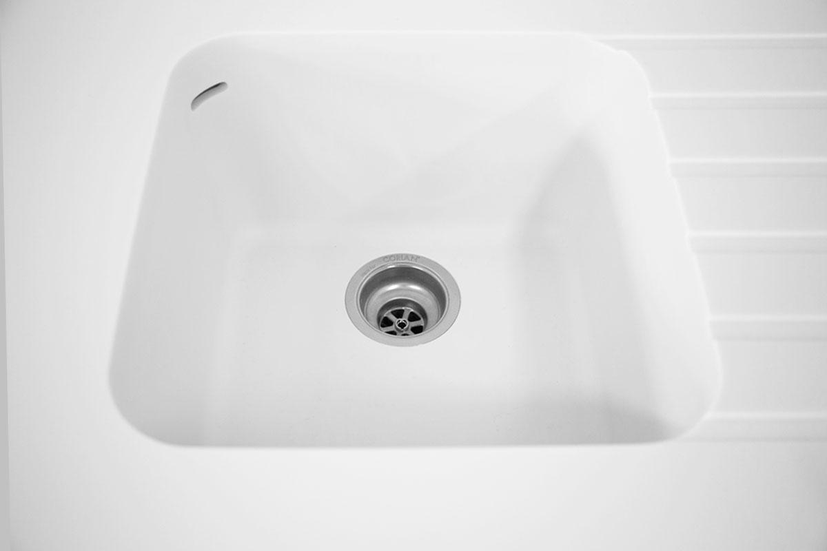Corian vask rengøring