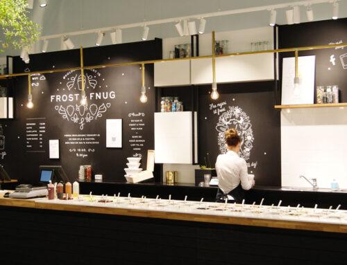 Frost & Fnug Yoghurt Shop