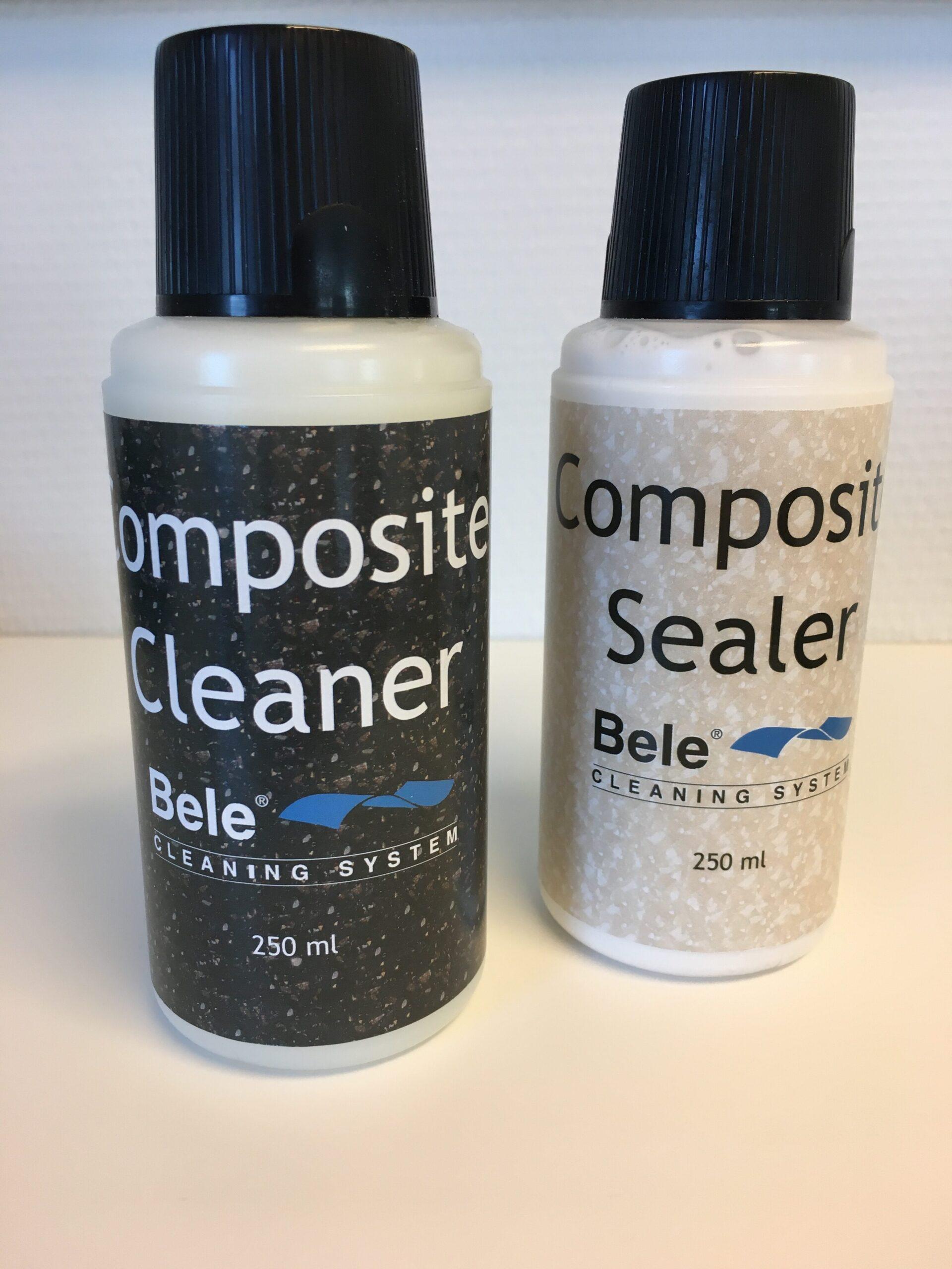 Plejesæt cleaner og sealer